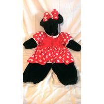 Hermoso Disfraz De Mini Mouse Original De Disneylandia T/4