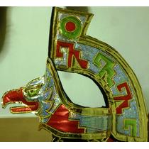 Copilli Azteca Penacho Tipo Moctezuma Danzantes Virgen Bfn