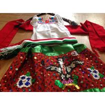 Disfraz Vestido China Poblana