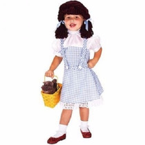 Disfraz Dorothy Mago De Oz Niña Talla 2 A 3 Años + Regalo