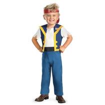 Disfraz Disney Jake Y Los Piatas Niño Talla 2 Años + Regalo