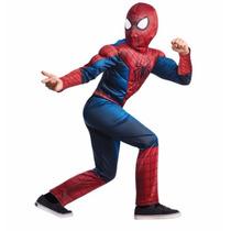 Disfraz 2015 Niño Spiderman Hombre Araña Talla 3 A 4 Años