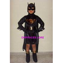 Disfraz Batichica Catrina Gatubela Vampira Bruja Batman Loba