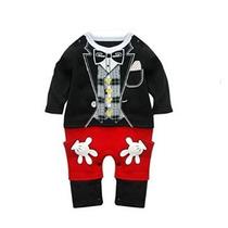 Stylesilove Bebé Mickey Mouse Inspirado Disfraz Mono