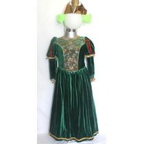 Disfraz De Fiona Valiente Merida Princesa Sofia Rapunzel