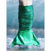 Colas De Sirena Azul Para Bebe 2 A 5 De Edad Para Nadar