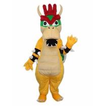 Botarga Disfraz Mario Bros Bowser Koopa Adulto