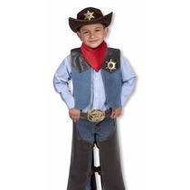Disfraz Sheriff Vaquero Cuentos Creatividad Halloween Woody