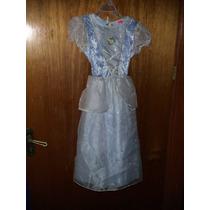 Disfraz Cenicienta,vestido,4 Puestas,marca Disney