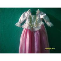 Hermoso Vestido De Las Princesas Talla 3