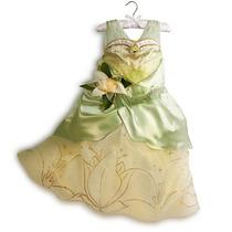 Disfraz Vestido Princesa Tiana 100% Original Disney Store!!