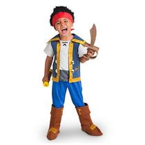Disfraz Jake Y Los Piratas Disney Store Traje