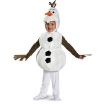 Disfraz Original Olaf Frozen Importado Disney Halloween Hm4