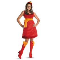 Disfraz Elmo Plaza Sesamo Mujer Talla Chica Small 4/6