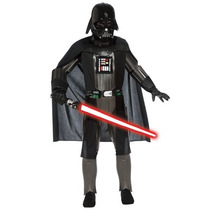 Disfraz Darth Vader Version De Lujo Niño Star Wars