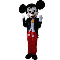 Disfraz Mickey Mouse Disney Adulto Botarga De Lujo