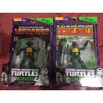 Tortugas Ninja Leo Y Miguel Ángel 1984 Con Libro