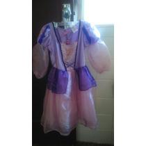 Vestido Rapunzel T 6