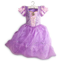 Vestido De Princesa Rapunzel Original Disney Store