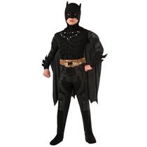 Disfraz Batman Dark Knight Niño Con Luz En El Pecho Mdn
