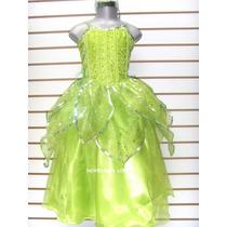 Disfraz Campanita Vestido Princesa Blanca Nieves Rapunzel