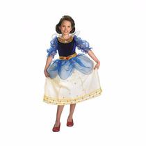 Disfraz Disney Blanca Nieves Niña Vestido Talla 7 A 8 Años
