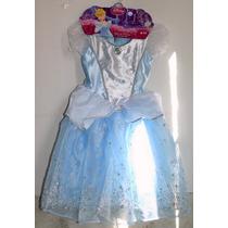 Halloween Disfraz Original Cenicienta Disney Envio Gratis