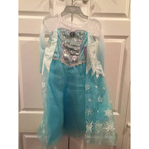 Frozen Disfraz Elsa Disney Store Original