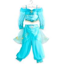 Vestido Disfraz Princesa Jazmin 100% Original Disney Store