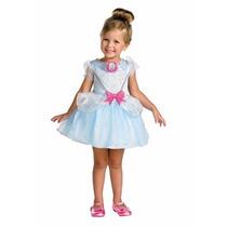 Disfraz Disney Cenicienta Niña Talla 2 A 3 Años + Regalo