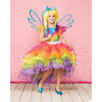 Disfraz My Little Pony Rainbow Dash Talla 6 A La 12