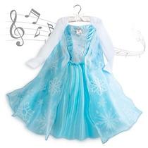 Disfraz Reina Elsa Original Disney Store Musical Capa Larga