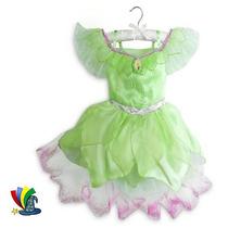 Campanita Tinkerbell Original Disney Store Disfraz Vestido