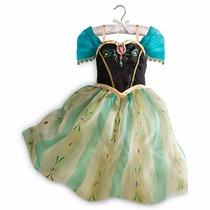Disfraz Anna De Lujo Disney Store 100% Original Envio Gratis