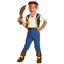 Disfraz Jake El Pirata Talla 3/4 Años Original Importado