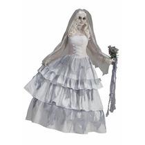 Disfraz De Fantasma, Novia Muerta Para Damas, Envio Gratis