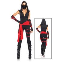Disfraz Oriental, Japonesa, Ninja Para Damas, Envio Gratis