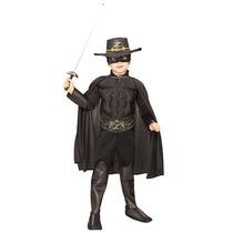 Disfraz De Zorro, Bandido Para Niños, Envio Gratis