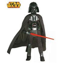 Oferta! Disfraz Star Wars, Darth Vader Para Niños, Talla 2-4