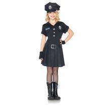 Disfraz De Policia Para Niñas, Envio Gratis