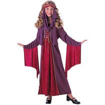Disfraz Julieta Historico, Renacimiento, Medieval Para Niñas