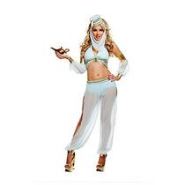 Disfraz De Bella Genio, Arabe, Aladino, Belly Dance P/ Damas