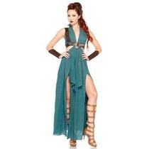 Disfraz De Gladiadora, Guerrera Medieval Para Damas