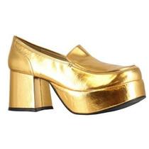 Zapatos Dorados Disco Para Adultos Envio Gratis