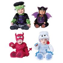 Disfraz Bebe Niño Niña Pequeño Halloween Versión De Lujo