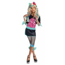 Disfraz Lagoona Blue Talla 4-6 Monster High Con Peluca