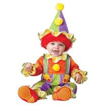 Disfraz Bebe Payaso Niño Niña Halloween Payasito