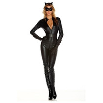 Disfraz Mujer Felina Gata Sexy Halloween Adulto