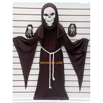 Disfraz De Adulto Monje Esqueleto Calavera Diablo Calaca