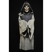 Disfraz La Santa Muerte Halloween Terror Máscara